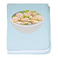 Potato Salad baby blanket