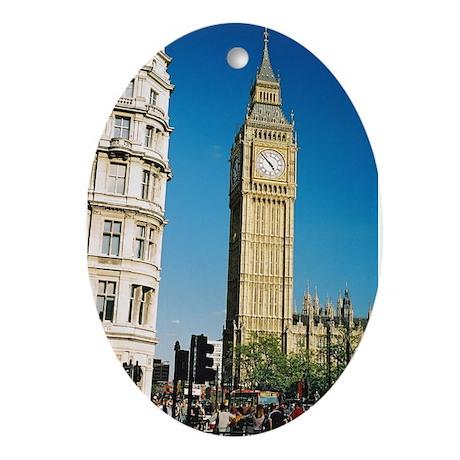 Big Ben - Oval Ornament