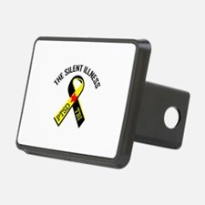 THE SILENT ILLNESS Hitch Cover