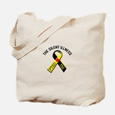 THE SILENT ILLNESS Tote Bag