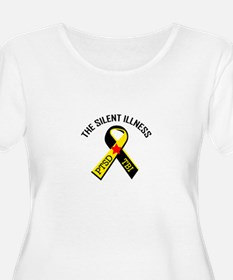 THE SILENT ILLNESS Plus Size T-Shirt