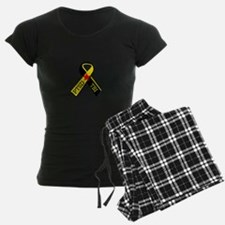 MILITARY PTSD AND TBI RIBBON Pajamas