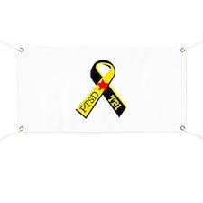 MILITARY PTSD AND TBI RIBBON Banner