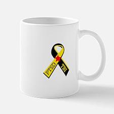 MILITARY PTSD AND TBI RIBBON Mugs