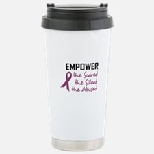 EMPOWER THE ABUSED Travel Mug