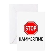 Hammertime Greeting Cards