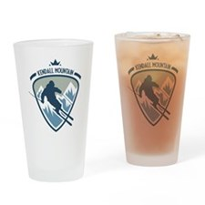 Kendall Mountain Drinking Glass