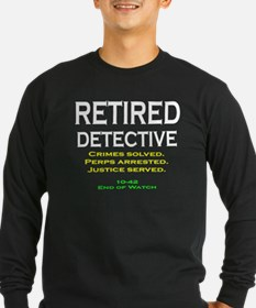 Cool Retired police T