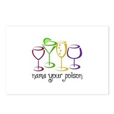Name Your Poison Postcards (Package of 8)