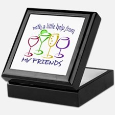 With A Little Help From My Friends Keepsake Box