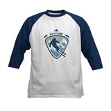 Downhill skiing Baseball Jersey