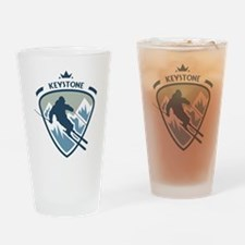 Keystone Drinking Glass