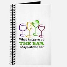 What Happens At The Bar Stays At The Bar Journal