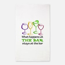 What Happens At The Bar Stays At The Bar Area Rug