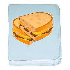 Panini Sandwich baby blanket