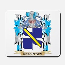 Nazartsev Coat of Arms - Family Crest Mousepad