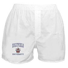 HOLYFIELD University Boxer Shorts