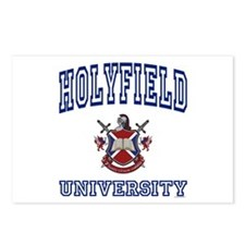 HOLYFIELD University Postcards (Package of 8)