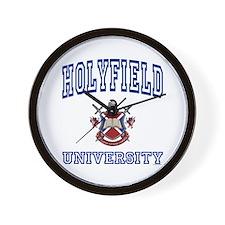 HOLYFIELD University Wall Clock