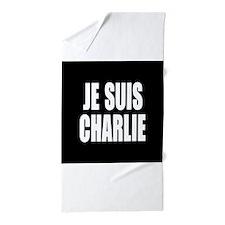 JE SUIS CHARLIE Beach Towel