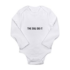 Funny Animals Long Sleeve Infant Bodysuit