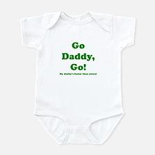 go daddy go Infant Bodysuit