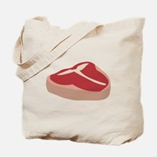 T Bone Steak Tote Bag