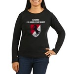 11TH ARMORED CAVA Women's Long Sleeve Dark T-Shirt