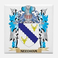 Needham Coat of Arms - Family Crest Tile Coaster