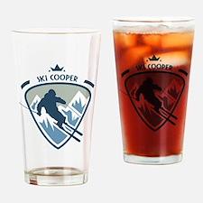 Ski Cooper Drinking Glass