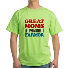 Great Moms Promoted Farmor T-Shirt