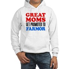 Great Moms Promoted Farmor Hoodie