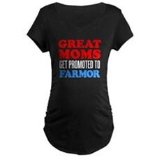 Great Moms Promoted Farmor Maternity T-Shirt