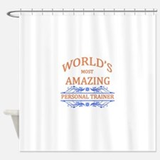 Personal Trainer Shower Curtain