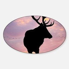 Stag And Sunset Decal