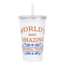 Personal Trainer Acrylic Double-wall Tumbler