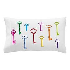 Skeleton Keys Pillow Case