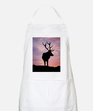 Stag And Sunset Apron