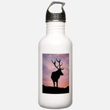 Stag And Sunset Water Bottle