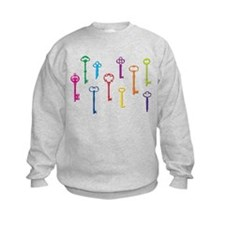Skeleton Keys Sweatshirt