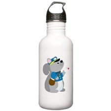 Squirrel Postman Water Bottle