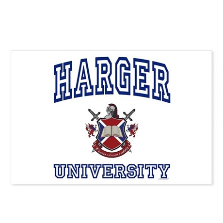 HARGER University Postcards (Package of 8)