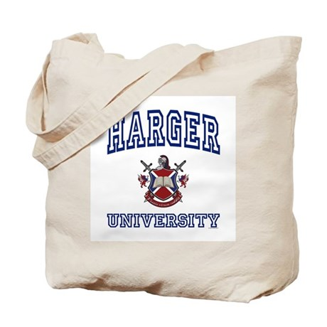HARGER University Tote Bag