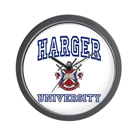 HARGER University Wall Clock