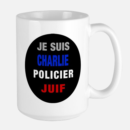 Je Suis French! Large Mug Mugs