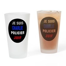Je Suis French! Drinking Glass