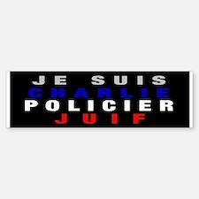 Je Suis French! Sticker (Bumper)