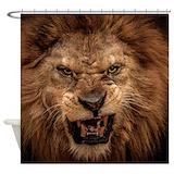 Lion Shower Curtains