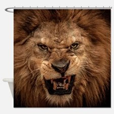 Cute Lion Shower Curtain