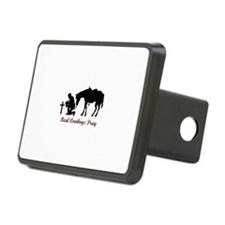 REAL COWBOYS PRAY Hitch Cover